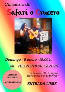 SAFARI O CRUCERO @ THE VERTICAL TAVERN   Zaragoza   Aragón   España