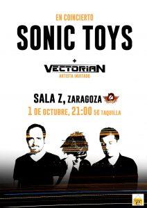 SONIC TOYS + VECTORIAN @ SALA ZETA | Zaragoza | Aragón | España