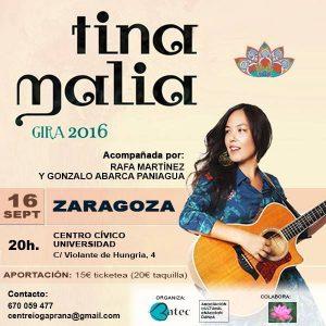 TINA MALIA @ CENTRO CÍVICO UNIVERSIDAD | Zaragoza | Aragón | España