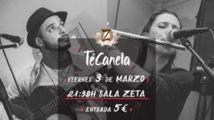 TéCanela @ SALA ZETA | Zaragoza | Aragón | España