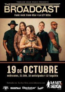 THE BROADCAST @ LA LEY SECA | Zaragoza | Aragón | España