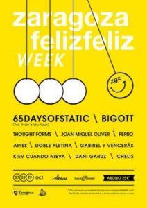ZARAGOZA FELIZ FELIZ WEEK 2016 @ LAS ARMAS Y LA LATA DE BOMBILLAS | Zaragoza | Aragón | España