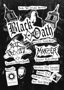 BLACK OATH + RITI OCCULTI + MANZER @ SALA KING KONG | Zaragoza | Aragón | España