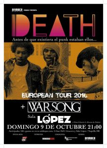 DEATH + WARSONG @ SALA LÓPEZ | Zaragoza | Aragón | España