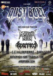 DUST BOLT @ CENTRO CÍVICO VALDEFIERRO | Zaragoza | Aragón | España