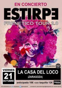 ESTIRPE @ LA CASA DEL LOCO | Zaragoza | Aragón | España