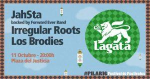 LAGATA REGGAE FESTIVAL @ PLAZA DEL JUSTICIA | Zaragoza | Aragón | España