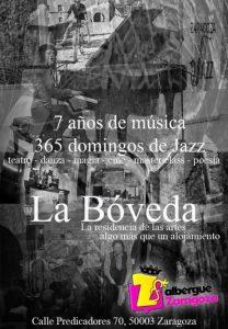 MILONGA EN LA BÓVEDA @ LA BÓVEDA DEL ALBERGUE | Zaragoza | Aragón | España