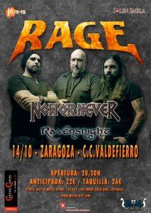 RAGE @ CENTRO CÍVICO VALDEFIERRO | Zaragoza | Aragón | España