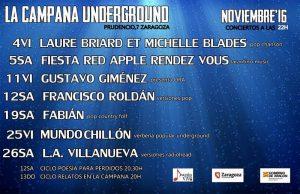 FRANCISCO ROLDÁN @ LA CAMPANA UNDERGROUND | Zaragoza | Aragón | España