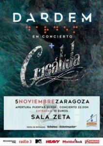 DARDEM + CRISALIDA @ SALA ZETA | Zaragoza | Aragón | España