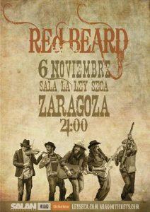 RED BEARD @ LA LEY SECA | Zaragoza | Aragón | España
