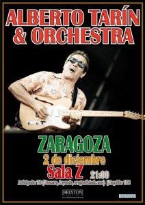 ALBERTO TARÍN ORCHESTRA @ SALA ZETA | Zaragoza | Aragón | España