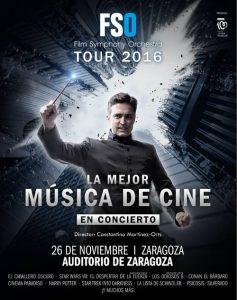 FILM SYMPHONY ORCHESTRA @ SALA MOZART | Zaragoza | Aragón | España