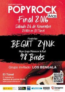 FINAL POPY ROCK 2016 @ EL TUNEL | Lleida | Catalunya | España