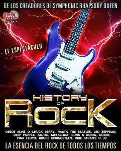 HISTORY OF ROCK @ SALA MOZART | Zaragoza | Aragón | España
