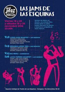 LAS JAMS DE LAS ESQUINAS @ TEATRO DE LAS ESQUINAS | Zaragoza | Aragón | España