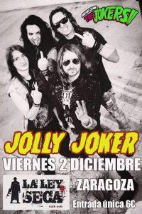 JOLLY JOKER @ LA LEY SECA | Zaragoza | Aragón | España