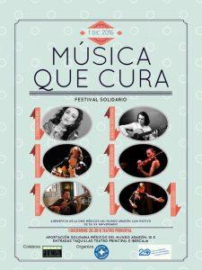 MÚSICA QUE CURA @ Teatro Principal | Zaragoza | España