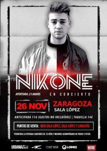 NIKONE @ SALA LOPEZ | Zaragoza | Aragón | España