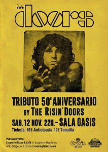 THE RISIN´DOORS @ OASIS CLUB TEATRO | Zaragoza | Aragón | España