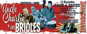 UNCLE CHARLIE Y LOS BRIOLES @ ROCK AND BLUES | Zaragoza | Aragón | España