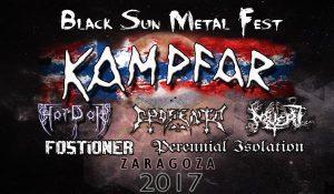 KAMPFAR - BLACK SUN METAL FEST @ CENTRO CÍVICO DELICIAS | Zaragoza | Aragón | España