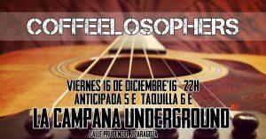 COFFEELOSOPHERS @ LA CAMPANA UNDERGROUND | Zaragoza | Aragón | España