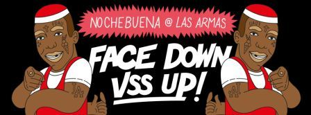 FACE DOWN ASS UP EN LAS ARMAS