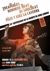 THE TREAPUDLES + NOWHERE BEAT @ SALA KING KONG | Zaragoza | Aragón | España