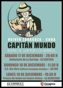 CAPITÁN MUNDO @ CENTRO CÍVICO RIO EBRO | Zaragoza | Aragón | España