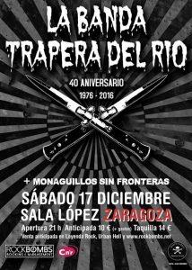 LA BANDA TRAPERA DEL RÍO + MONAGUILLOS SIN FRONTERAS @ SALA LÓPEZ | Zaragoza | Aragón | España