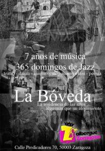 JAZZ EN LA BÓVEDA @ LA BÓVEDA DEL ALBERGUE | Zaragoza | Aragón | España
