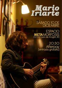 MARIO IRIARTE @ ESPACIO METAMORFOSIS | Zaragoza | Aragón | España