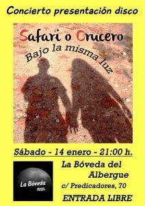 SAFARI O CRUCERO @ LA BÓVEDA DEL ALBERGUE | Zaragoza | Aragón | España