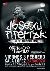 JOSETXU PIPERRAK & THE RIBER ROCK BAND @ SALA LÓPEZ | Zaragoza | Aragón | España