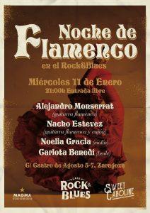 NOCHE DE FLAMENCO @ ROCK & BLUES | Zaragoza | Aragón | España