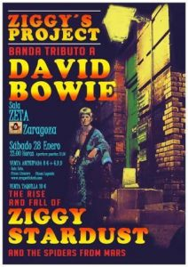 ZIGGY'S PROJECT - HOMENAJE A DAVID BOWIE @ SALA ZETA | Zaragoza | Aragón | España