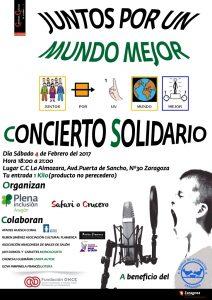 JUNTOS POR UN MUNDO MEJOR @ CENTRO CÍVICO LA ALMOZARA | Zaragoza | Aragón | España