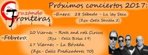 CRUZANDO FRONTERAS @ LA LEY SECA | Zaragoza | Aragón | España