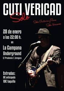 CUTI VERICAD @ LA CAMPANA UNDERGROUND | Zaragoza | Aragón | España