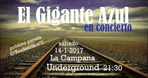 EL GIGANTE AZUL @ LA CAMPANA UNDERGROUND | Zaragoza | Aragón | España