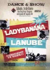 LADY BANANA + LA NUBE @ SALA KING KONG | Zaragoza | Aragón | España