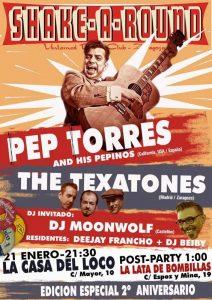 PEP TORRES & HIS PEPINOS + LOS TEXATONES @ LA CASA DEL LOCO | Zaragoza | Aragón | España