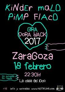 KINDER MALO + PIMP FLACO @ LA CASA DEL LOCO | Zaragoza | Aragón | España