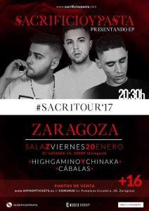 SACRIFICIO Y PASTA @ SALA ZETA | Zaragoza | Aragón | España