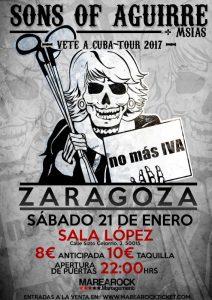SONS OF AGUIRRE + MSIAS @ SALA LÓPEZ | Zaragoza | Aragón | España