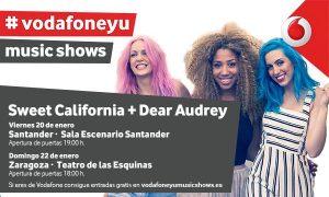 SWEET CALIFORNIA + DEAR AUDREY @ TEATRO DE LAS ESQUINAS | Zaragoza | Aragón | España