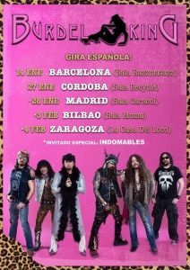 BÜRDEL KING + INDOMABLES @ LA CASA DEL LOCO | Zaragoza | Aragón | España