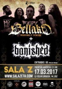 BELLAKO + BANISHED @ SALA ZETA | Zaragoza | Aragón | España